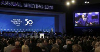 Davos, per la prima volta i 5 maggiori rischi per l'economia globale sono tutti legati al clima: Forum al via con Trump e Thunberg