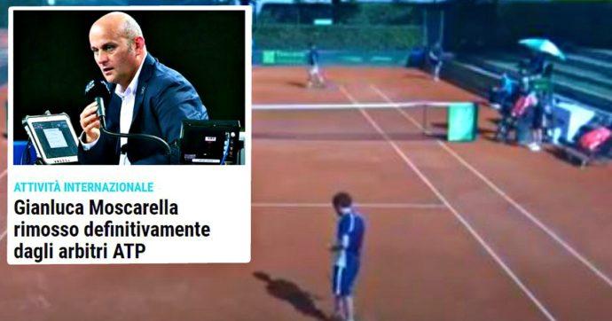 """Tennis, l'arbitro Gianluca Moscarella rimosso a vita dall'Atp: disse """"sei molto sexy"""" a una raccattapalle durante un match a Firenze"""