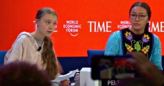 """Forum economico di Davos, l'intervento di Greta: """"Media e politici non vogliono parlare di cambiamenti climatici. Io continuerò a farlo"""""""
