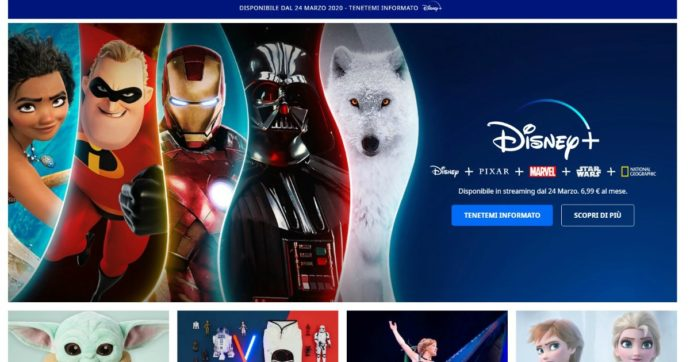 Disney+: ecco come attivare la settimana di prova gratuita