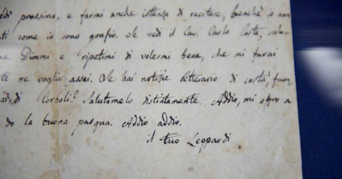Leopardi recensiva Dante: scoperto un suo articolo inedito nascosto nella Biblioteca Nazionale di Napoli