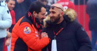 """Salvini, quando da ministro strinse la mano a Luca Lucci. """"Ecco uno spacciatore che conosce bene, ora invece fa il giustiziere della notte"""""""