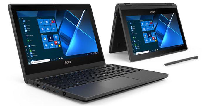 Acer TravelMate B3, notebook da 11 pollici ultra robusto e affidabile