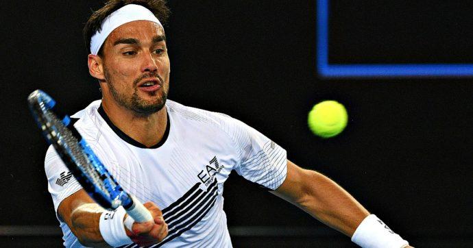Tennis, Australian Open: Fognini vince 10-4 al tie-break del 5° set. Fuori Berrettini e Sinner