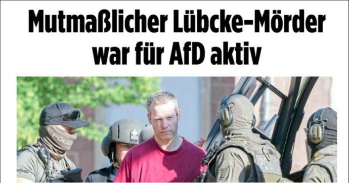 """Germania, l'accusato per la morte di Lübcke è """"sostenitore attivo del partito di estrema destra Afd"""""""