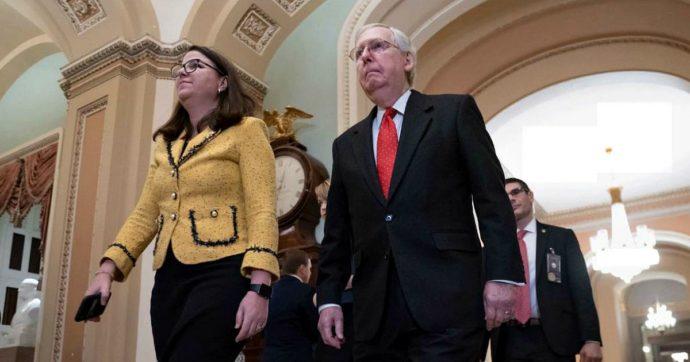 """Impeachment, il Senato Usa approva regole dibattimento, ma boccia tutte risoluzioni Dem. Trump: """"Mi piacerebbe andare al processo"""""""