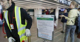 """Coronavirus in Cina, scienziati: """"Trasmesso all'uomo dai serpenti"""". A Fiumicino 202 passeggeri da Wuhan: nessun caso sospetto"""
