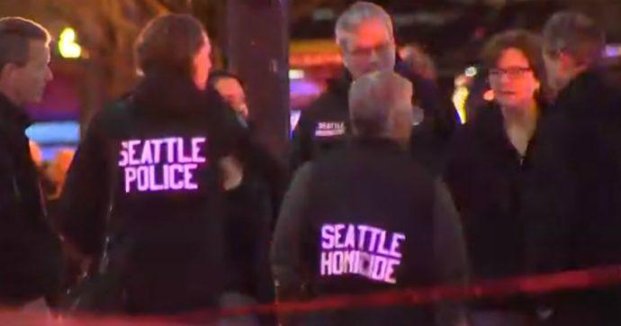 Usa, sparatoria a Seattle davanti a McDonald's: morta 40enne, 7 feriti. Killer in fuga