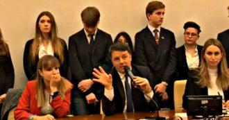 """Prescrizione, Renzi ancora contro la riforma Bonafede: """"Esibita come uno scalpo per un messaggio giustizialista"""""""
