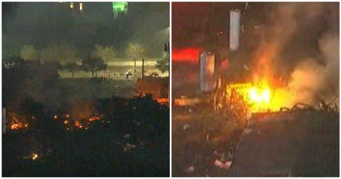 """Usa, esplosione in una fabbrica a Houston: 2 morti. """"Provocata da serbatoio di propilene"""""""