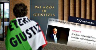 """Eternit bis, attesa oggi la decisione sul rinvio a giudizio. L'intervista di Schmidheiny: """"L'Italia uno Stato fallito, non vedrò la prigione"""""""
