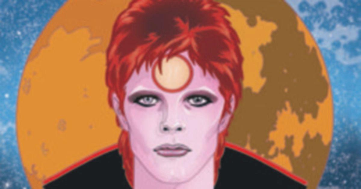 La psichedelica carriera di Bowie nelle tavole pop di Mike Allred