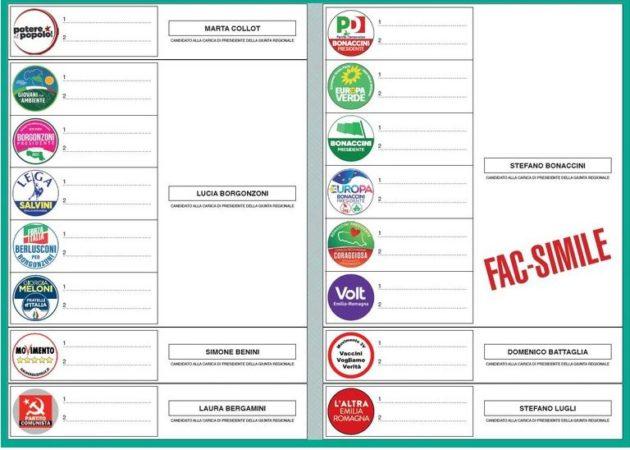 Elezioni Regionali in Emilia Romagna e Calabria, dai candida