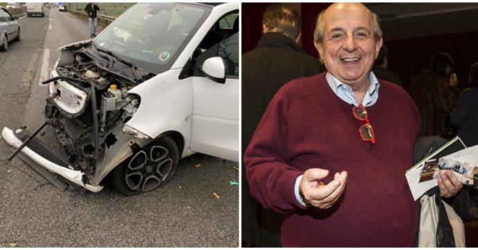 """Giancarlo Magalli coinvolto in un brutto incidente stradale: """"Nessuno poteva credere che da quelle lamiere qualcuno potesse uscire vivo"""""""