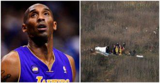 """Kobe Bryant morto, si indaga sull'incidente in elicottero: è precipitato in 10 secondi. La polizia: """"C'erano cattive condizioni meteo"""""""
