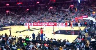 Kobe Bryant, le squadre restano col pallone in mano per 24 secondi: il tributo di Toronto Raptors e San Antonio Spurs al Mamba