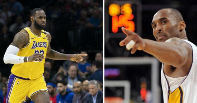 Kobe Bryant, la notte prima dell'incidente era stato superato da LeBron James nella classifica Nba. L'ultimo tweet del campione