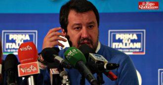 """Salvini dopo la sconfitta in Emilia-Romagna: """"Quando si voterà per le elezioni nazionali? Saperlo è nelle mani del buon Dio"""""""