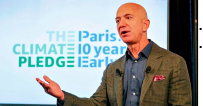 """Amazon, 350 dipendenti violano le politiche aziendali sulla comunicazione per criticare gli impegni sull'ambiente: """"Fare di più"""""""