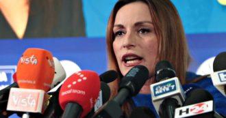 """Borgonzoni: """"Grande risultato, regione era contendibile. Spiace che Bonaccini mi attacchi anche stasera"""""""