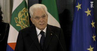 """Giorno della Memoria, Mattarella: """"In Italia la persecuzione ebrei non fu all'acqua di rose, ma spietata: metà dei deportati catturati da fascisti"""""""