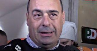 """Regionali, Zingaretti: """"Grazie a Bonaccini e un grazie immenso alle Sardine. Salvini ha perso, ora il M5s scelga dove stare"""""""