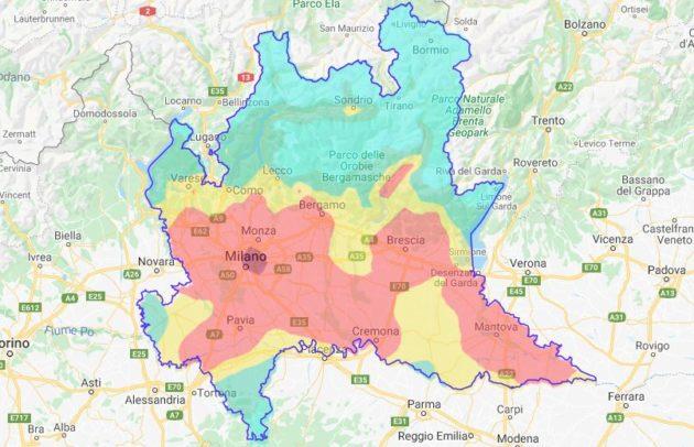 Smog, a Milano da inizio anno 22 giorni di Pm10 fuorilegge.