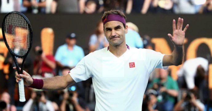 Australian Open, Federer annulla 7 match point a Sandgren e conquista la semifinale dopo un infortunio e 3 ore e mezza di partita
