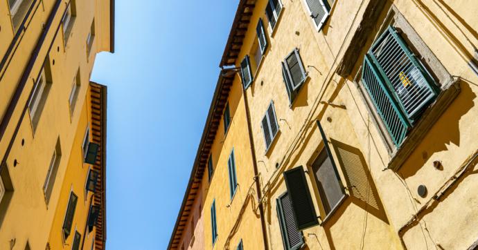 Crescono i prezzi delle case in Italia.