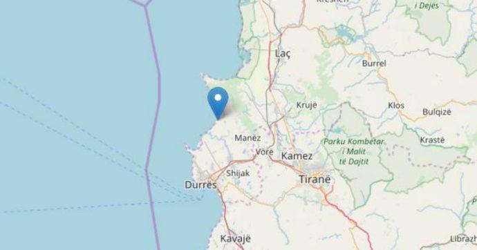 Terremoto Albania, scossa di magnitudo 5 vicino a Durazzo. Avvertita anche nel Salento