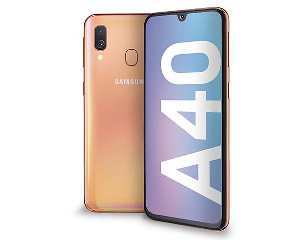 Samsung Galaxy A40 |  smartphone di fascia media scontato del 29% su Amazon