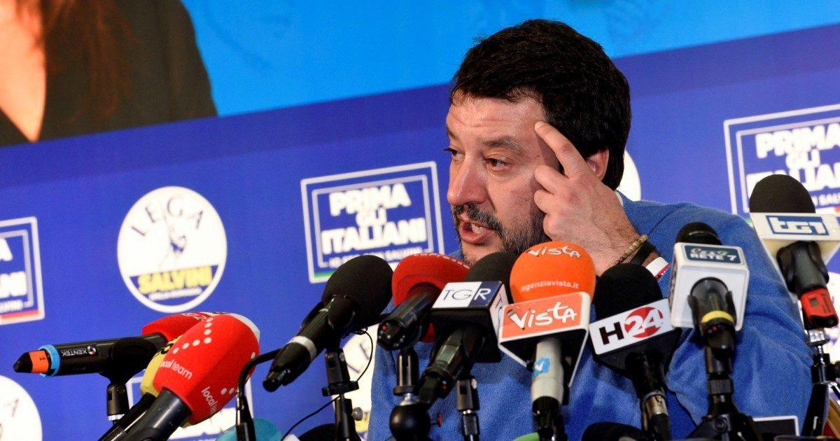 Salvini il tacchino fa pure la festa di ringraziamento