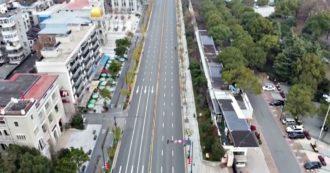 Coronavirus, strade deserte e negozi chiusi: Wuhan è una città fantasma. Le immagini dall'alto sono impressionanti