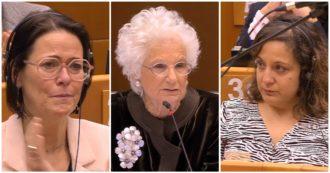 Liliana Segre parla al Parlamento Ue: deputati in lacrime mentre racconta la sua vita nei campi di concentramento