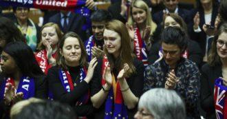 """Brexit, via libera del Parlamento europeo all'accordo di recesso. Sassoli: """"Abbiamo molto più in comune di quanto ci divide"""""""