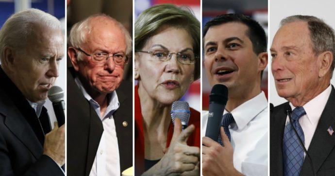 Primarie Usa, la sfida a 5 per i democratici parte in Iowa. Ecco chi sono Biden, Sanders, Warren, Buttigieg e Bloomberg