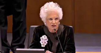 Liliana Segre al Parlamento europeo, il discorso integrale che la senatrice a vita ha fatto a Bruxelles