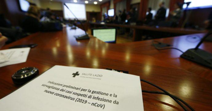 """Coronavirus, il bollettino dei medici dello Spallanzani: """"Coppia in condizioni discrete"""". Dodici ricoverati sottoposti a test"""