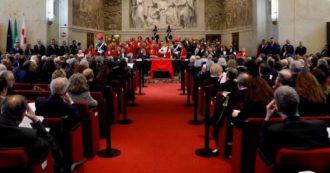 Anno giudiziario, Davigo parla a Milano e gli avvocati lasciano l'aula. Presidente corte d'Appello: 'Stop prescrizione? Qui ricadute contenute'. Poniz (Anm): 'Intollerabile la lezione di garantismo dalla politica'