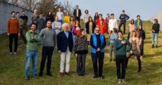 Sardine, che scivolone: in visita da Benetton