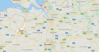 Belgio, donna accoltella due persone per strada a Gand. La polizia le spara per fermarla