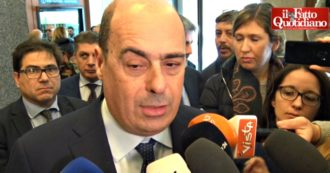 """Prescrizione, Zingaretti: """"Renzi mette a rischio governo? Basta picconi, si trovi intesa o Pd andrà avanti con la sua proposta"""""""