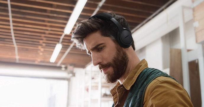 Cuffie Bose On-Ear Wireless Triple Black in offerta su Amazon con sconto del 48%