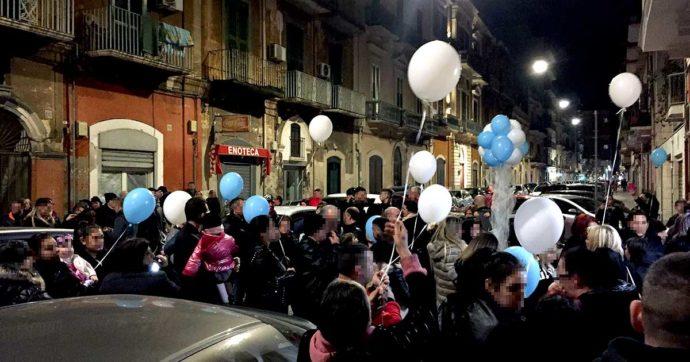 Bari, festa vietata dal sindaco perché 'in odor di mafia' si è tenuta lo stesso: senza luci, ma con un frate a benedire e la polizia presente