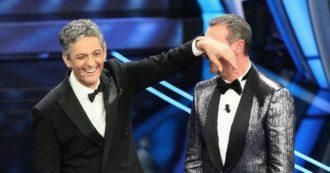"""Festival di Sanremo 2020, gli ascolti della prima serata: Amadeus fa il botto e batte Claudio Baglioni con il 52,2% di share. Fiorello: """"Minchiaaaaaaaa"""""""