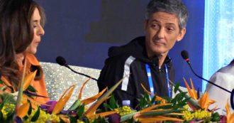 """Sanremo 2020, Fiorello rimproverato in sala stampa: """"Andiamo avanti"""". Ma lui continua lo show e prende in giro il vicedirettore di Rai1"""