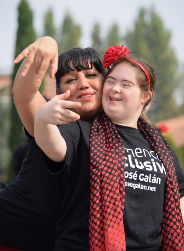 """""""Nel mio flamenco inclusivo persone con e senza disabilità s"""