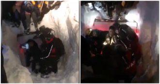 Turchia, 38 morti per una valanga: colpiti da una seconda slavina anche i soccorritori. Le immagini
