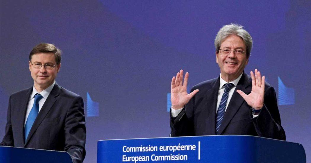 """Crescita, Ue taglia stime per l'Italia: +0,3% nel 2020 e 0,6% nel 2021. Resta fanalino di coda. """"Consumi spinti dal reddito di cittadinanza"""""""
