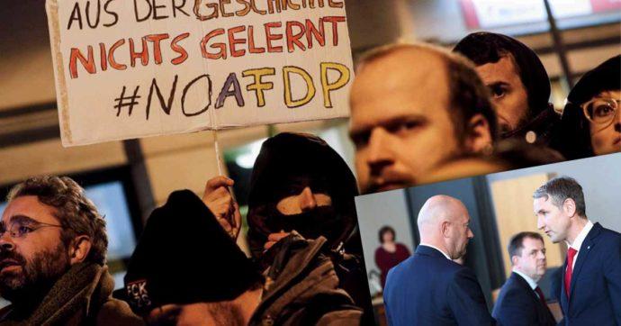 Germania, la Turingia infrange il tabù: il governatore del Land eletto con i voti della destra di AfD